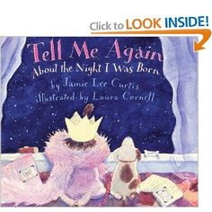 Jamie Lee Curtis and Laura Cornell come together once again to create a unique celebration of the love and joy a baby brings into the world. Tell Me Again About the Night I Was Born is a heartwarming story, not only of how one child is born but of how a family is born.