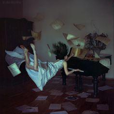 Flying Musician's Heart. Anka Zhuravleva