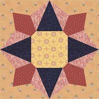 Country Rose Quilts: Block 13 - Constanze - Wo die Liebe hinfällt