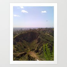 This is Los Angeles Art Print by Connor Resnick - $16.64  http://society6.com/eurotrashmutt/This-is-Los-Angeles_Print