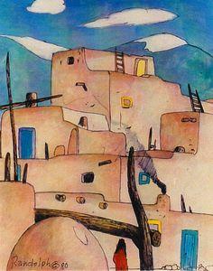Southwest Art. Daniel Randolph, Artist. PacificBlueGallery.net