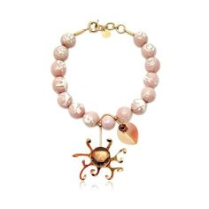 Valentina Brugnatelli Women Margherita Pink Necklace ($670) ❤ liked on Polyvore featuring jewelry, necklaces, pink, swarovski crystal jewelry, pink necklace, pink jewelry and swarovski crystal necklace