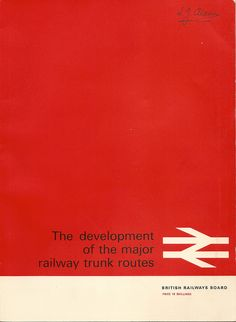 British Rail - the development of the major trunk routes - February 1965 by mikeyashworth, via Flickr
