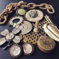 Stunning instant collection of precious vintage finds just listed in the shop...