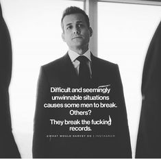 Grey Anatomy Quotes, Greys Anatomy, Suits Quotes, Suits Show, Harvey Specter Quotes, Gabriel Macht, Red Band Society, I Am Blessed, Daily Motivation