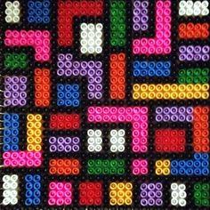 Perler bead geometric design by xeniaalexander