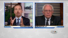 Full Interview: Bernie Sanders on the Future of the Revolution SUN, SEP 04  Chuck Todd questions Sen. Bernie Sanders on his support for down ballot candidates, millennials voting for third-party candidates and the future of the Clinton Foundation.. Chuck Todd questions Sen. Bernie Sanders on his support for down ballot candidates, millennials voting for third-party candidates and the future of the Clinton Foundation.