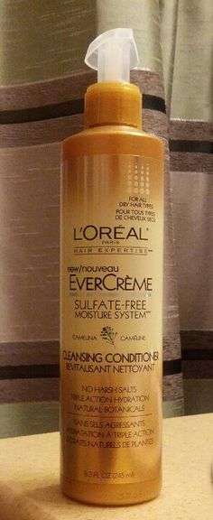 Drugstore Dupe for Wen - L'oreal EverCreme Cleansing Conditioner - around $6. Sulfate and paraben free.