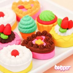Yummy Eraser Set - Series 3 | Blippo.com - Japan & Kawaii Shop
