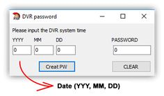 Swann DVR password reset - series 4350 4500 4900 8050 8075 (easy