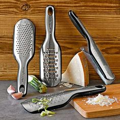 The Microplane Elite Paddle Grater makes for the best light and fluffy grated cheese.