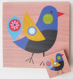 ellen giggenbach  sent me details of sme of her latest work. the first designs are a series of greeting cards with a native new zealand bird...