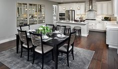 This beautiful kitchen in Mountain House, CA, was designed for gathering with friends and family   Chantel plan by Richmond American