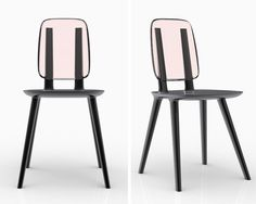 tabu by eugeni quitllet for alias achieves a dramatic dialogue between the natural and the modern by juxtaposing wood construction with a clear polymer back Small Furniture, Bespoke Furniture, Living Furniture, Furniture Decor, Furniture Design, Single Sofa, Tabu, Made Of Wood, Desk Chair
