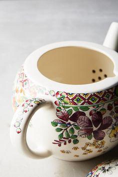 Gien Bagatelle Teapot