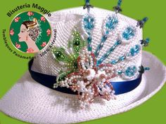 Bead Jewellery, Beaded Jewelry, Tole Painting, Beaded Flowers, Hats For Women, Diy And Crafts, Beads, Beautiful, Fedoras
