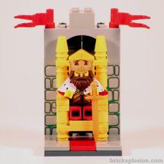 Lego Minifigure Series 13 Vignette Habitat for the King