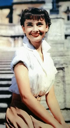 Roman Holiday - 1953, Audrey Hepburn and Gregory Peck. A princess turned civilian for one day.
