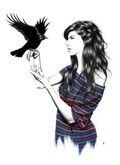 DARK WINGS - Amanda Mocci