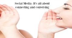 Social media: It's all about connecting and conversing #Mentor2Success