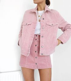 Find images and videos about girl, fashion and outfit on We Heart It - the app to get lost in what you love. Mode Outfits, Girly Outfits, Trendy Outfits, Summer Outfits, Pink Skirt Outfits, Co Ords Outfits, Pink Fashion, Fashion Outfits, Womens Fashion