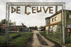 De Ceuvel is a planned workplace for creative and social enterprises adjacent to the van Hasselt kanaal off the river IJ in Amsterdam North. The land was secured for a 10-year lease from the Municipality of Amsterdam after a group of initiators won a tender to turn the site into a regenerative urban oasis.