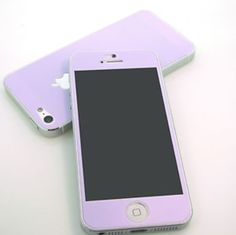 iPhone case lavender