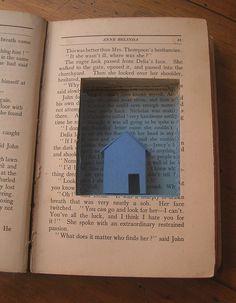 Una casa bajo el agua. Taller libro de artista