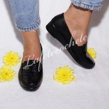 PANTOFI CASUAL DAMA ELA Casual, Slippers, Loafers, Flats, Shoes, Fashion, Travel Shoes, Toe Shoes, Moda