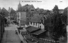 Rue des Tanneurs Colmar / Alsace / France