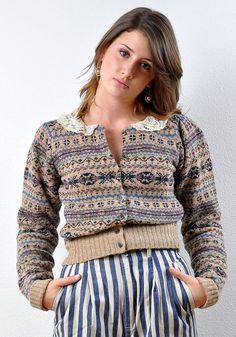 Vintage Wool Fair Isles 70s Ralph Lauren Wool by Fuzzybellas, $45.00