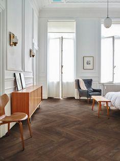 Moduleo Moods visgraat vloer in de slaapkamer #interieur