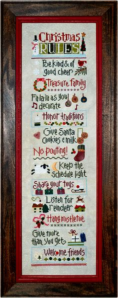 Christmas Rules by Lizzie Kate + Just Another Button Company buttons!