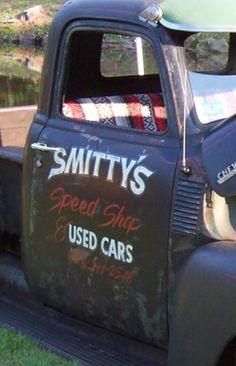 118 Best Vintage Truck Door Signs