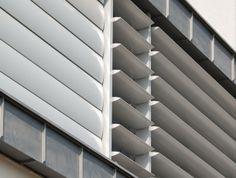 Irodaépület, Vác, #árnyékolók, #építészet, #alumínium Blinds, Curtains, Home Decor, Decoration Home, Room Decor, Shades Blinds, Blind, Draping, Home Interior Design