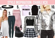 charli xcx outfits - Buscar con Google