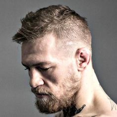 Conor McGregor Hair - Low Fade with Messy Hair