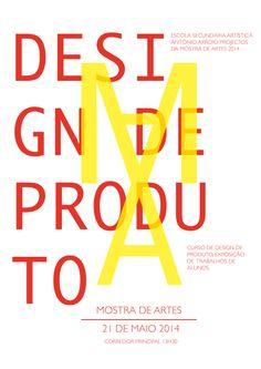 Poster Mostra de Artes  A. Catarina Teixeira