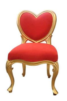 Adorable heart chair from VW Home