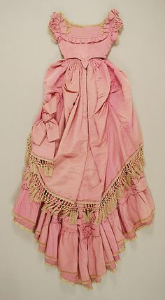 Dress (image 5) | French | 1871 | silk | Metropolitan Museum of Art | Accession Number: 21.179a–d