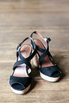 Classic with a modern twist: Betsy Platform Wedge's / bySoleSociety