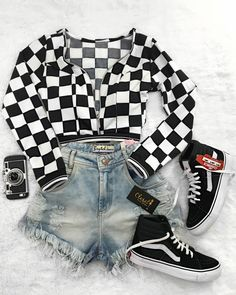 Cute Lazy Outfits, Cute Swag Outfits, Teenage Girl Outfits, Edgy Outfits, Retro Outfits, Outfits For Teens, Fall Outfits, Girls Fashion Clothes, Teen Fashion Outfits