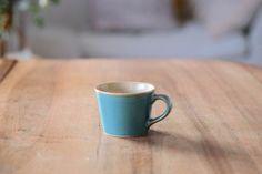 「益子焼 コーヒーカップ/青磁」の紹介・購入ページ by オルネドフォイユWEBショップ