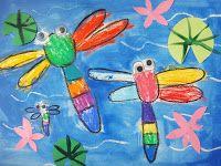 Kids Art: Dragonfly