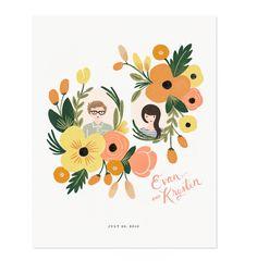 Wedding card illustration design rifle paper co Ideas for 2019 Art Floral, Floral Design, Wedding Paper, Wedding Cards, Wedding Stationary, Wedding Invitations, Invites, Illustrations Vintage, Wedding Illustration