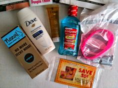 Other freebies from this week:  Travel size Dove Deep Moisture, travel size Colgate Total Advanced Pro-Shield, travel size Dove Pure Care Dry Oil, Nozoil Nasal Spray, Monk Fruit In The Raw sample and a wristband.