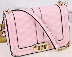 Classic quilted front panel design. Turn clasp closure. – Today Finds