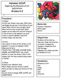 Visual Arts Emergency Substitute Lesson Plans/Resources BUNDLE ...