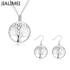 Big promotion Factory Price jewelry silver plated sets, wholesale fashion hot sale Bridal Jewelry Sets S828