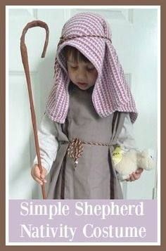 Simple Shepherd Nativity costume